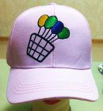 La orden de encargo de los deportes de la impresión y del bordado le hace tiene gusto de los casquillos promocionales