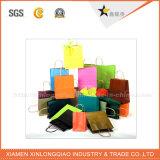 Vente en gros polychrome favorable à l'environnement de sac de papier