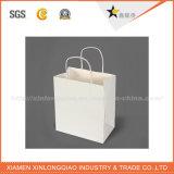 Sac respectueux de l'environnement de cadeau de traitement de corde d'emballage de papier de qualité