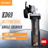 Delgada del cuerpo de 900W amoladora angular con sistema de refrigeración (KD69)