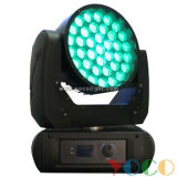 37X12W RGBW 4в1 LED Wash зум Disco освещение перемещение головки блока цилиндров