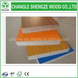 madera contrachapada de la melamina del grado de los muebles de la alta calidad de 15m m