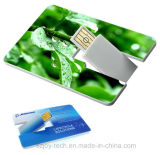 Memoria de la tarjeta de crédito del USB de la impresión a todo color