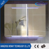 Miroir intelligent imperméable à l'eau de la salle de bains DEL de constructeur professionnel