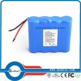 2s1p 7.4V 2200mAh Li-ion Battery Pack