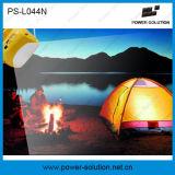 Емкость 2600mAh батареи фонарика высокого качества PS-044n портативная солнечная с заряжателем телефона USB для крытого & напольного