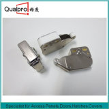 Mini loquet en acier de poussée pour le volet ou le guichet OP7901