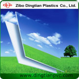 Strato bianco della gomma piuma del PVC per il materiale della visualizzazione dell'insegna luminosa