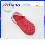 Zuecos de moda EVA color mujeres rojas (TNK40051)