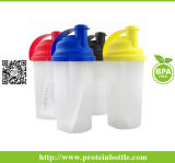 [400مل] بروتين زجاجة مع خلّاط بلاستيكيّة