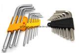 Utensile manuale extra-lungo della chiave di esagono di formato