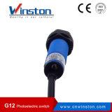 G12 M12 fotoeléctrico Interruptor de barrera tipo difuso Tipo retrorreflectante Tipo