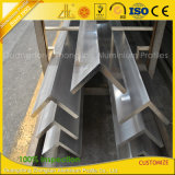 Fournisseur d'aluminium 6061 6063 l'angle en aluminium extrudé Profil industriel