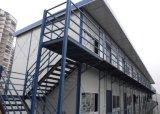 Schnelle Anlieferungs-modernes helles Stahlrahmen-Fertighaus-Haus