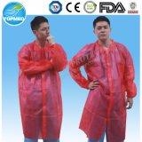 Manteaux de laboratoire bon marché pour femmes à double col