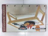 Nobles Geschenk Fernsehapparat-Tellersegment-hölzerner faltender Bett-Frühstück-Tellersegment-Tisch