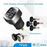 Ciggaret 점화기 TPMS 타이어 압력 모니터 시스템 내부 타이어 자동차 부속