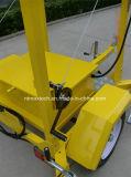 Señal de tráfico portátil alimentado velocidad del radar solar para la Gestión de Tráfico y Seguridad Vial