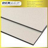 4mm/0,35 mm du mur du bâtiment en polyester Decoration Material panneau composite aluminium ACP