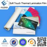 Pellicola di laminazione termica di tocco morbido per la marca di Eko