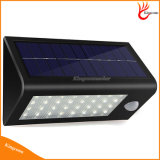 32 LED impermeável Solar LED Garden Light Solar Powered Sensor de movimento lâmpada de parede Outdoor Solar Lights