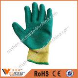 Покрынные нитрилом перчатки отрезока упорные