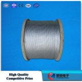 Galvanizado de acero trenzado de cables (cable de sujeción, la estancia de alambre)
