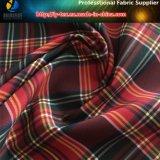 ポリエステルヤーンの染められたスパンデックスファブリック、ワイシャツのためのWeft伸縮織物