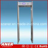 China-Hersteller-hoher Empfindlichkeits-Türrahmen-Metalldetektor mit 24zones