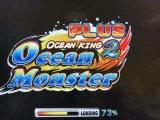 Mostro dell'oceano più il gioco della scanalatura della macchina del gioco del cacciatore di pesca