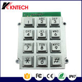 Dynamic Vandal Proof K8 Inoxidável 15digit Keys Flat Keypad