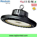 Luz circular de la bahía del almacén LED del diseño 140lm/W 200W del UFO alta