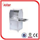 Piastra da vendere, strumentazione commerciale di controllo di temperatura 3 della cucina della piastra elettrica della contro parte superiore