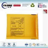 Goldener gelber Braunes Packpapier Eilbote-sendender Umschlag