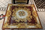 Carrelages en cristal d'or Polished de tapis de porcelaine