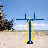 Caballo de Pomo de acero de jardín equipos de gimnasia al aire libre