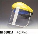 Máscara de segurança Proteção facial Protetor com visor de malha