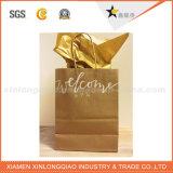 Papier de haute qualité sac sacs-cadeaux papier avec les poignées de ruban