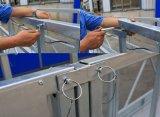 Zlp800 Galvanisation à chaud en acier Glazing Construction Gondola