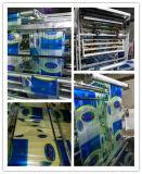 Automatisches LDPE-HDPE Superwellen-Griff-Einkaufstasche, die Maschine herstellt
