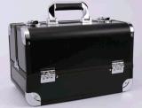Grande capacidade de acabamento multifuncional portátil Casos de maquiagem de alumínio