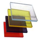 folha Anti-Riscada 12mm do policarbonato para o defletor