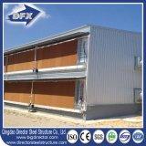 Diseño prefabricado de la casa de la granja avícola de la estructura de acero del edificio agrícola de pollo