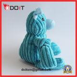 Tiras de cerdo de terciopelo azul resistente al rasgado de juguete Pet