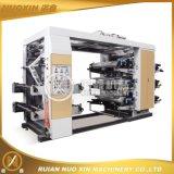 6 Machine van de Druk Flexo van de kleur de PE/PP/Paper/Non Geweven