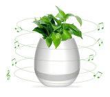 Altofalante esperto dos potenciômetros da planta da flor da música de Bluetooth com luz