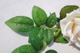 Qualitäts-reale Note künstliche rote Rose blüht gefälschte Blumen für Haupthochzeits-Dekoration