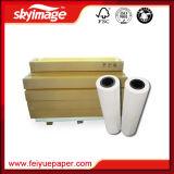 De taxa de transferência elevada da geração nova 90GSM 60inch (1524mm) papel de transferência térmica para a impressão de Digitas