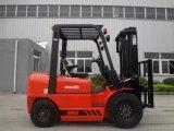 automatischer 2.5ton Dieselgabelstapler mit Janpanese Isuzu dem Motor, den Ersatzteilen und dem Ingenieur erhältlich übersee instandhalten