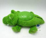 Stuk speelgoed van het Hoofdkussen van de Nacht van de Pluche van de douane het Dierlijke Lichte voor Baby